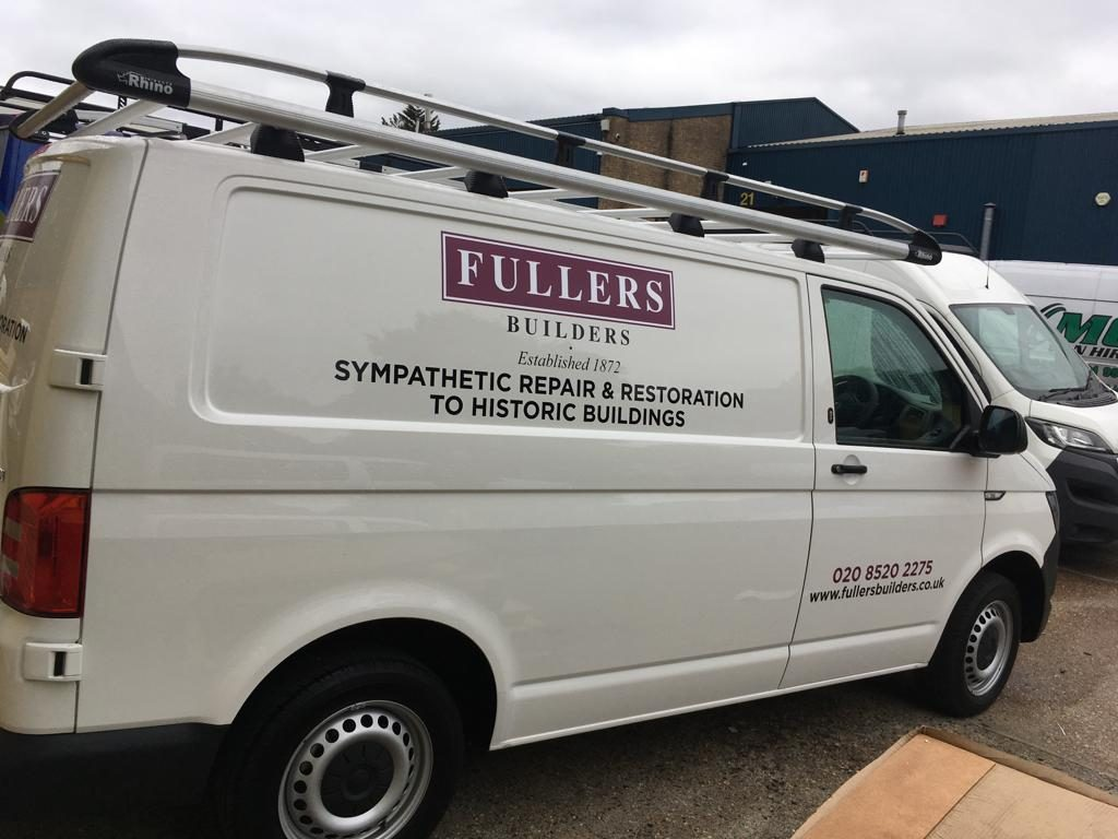 Fullers Builders - Luxury branding and stickers