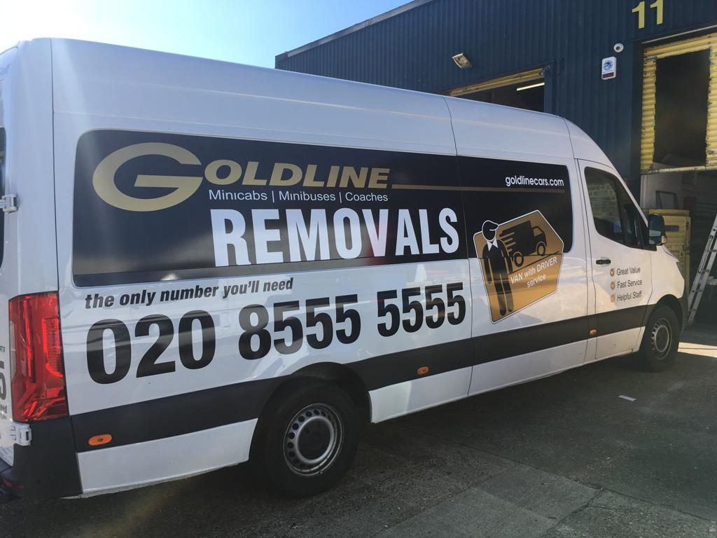 Goldline Removals - Big gold special vinyl