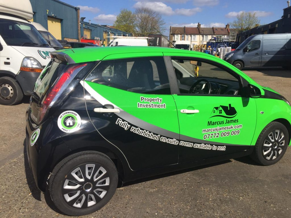 Marcus James Toyota Aygo - Full wrapping